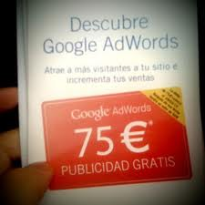 Cupon Google Adwords de 75€ GRATIS!