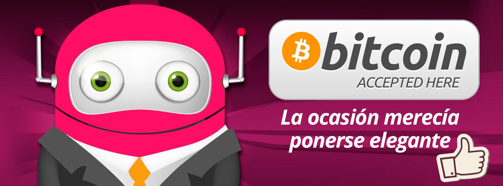 Aceptamos Bitcoin en SERSEO