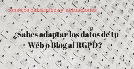 adaptación RGPD, adaptación presencia digital