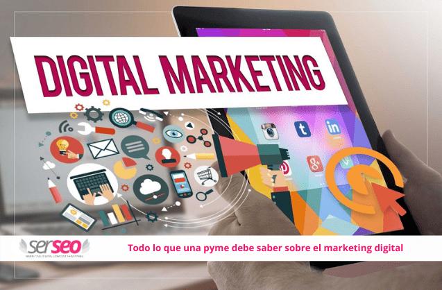 marketing digital para pyme. SERSEO